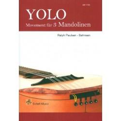 Paulsen-Bahnsen, Ralph: Yolo : f├╝r 3 Mandolinen Partitur und Stimmen