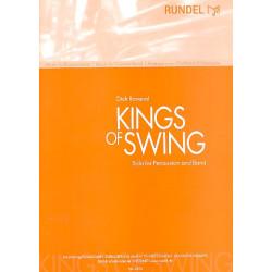 Ravenal, Dick: Kings of Swing : für Percussion und Blasorchester Partitur und Stimmen