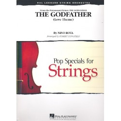 Rota, Nino: Love Theme from The Godfather : for string orchestra score and parts