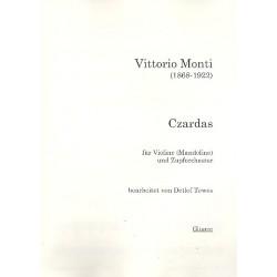 Monti, Vittorio: Czardas für Violine (Mandoline) und Zupforchester Gitarre