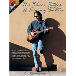 Sultan, Kenny: The Blues Styles of Kenny Sultan (+CD): for guitar/tab