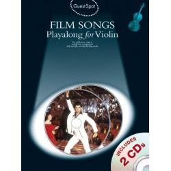Film Songs (+CD) : for violin Guest Spot Playalong