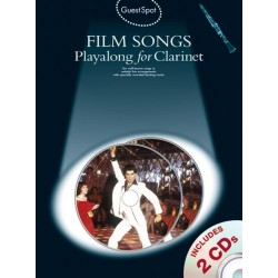 Film Songs (+CD) : for clarinet Guest Spot Playalong