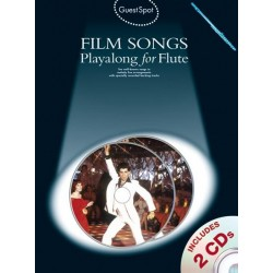 Film Songs (+CD) : for flute Guest Spot Playalong