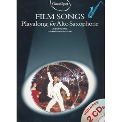 Film Songs (+CD) : for alto saxophone Guest Spot Playalong