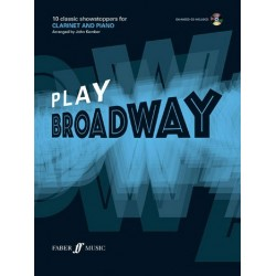 Play Broadway (+CD) : for clarinet and piano