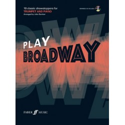 Play Broadway (+CD) : for trumpet and piano