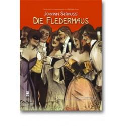 Strauß, Johann (Sohn): Highlights aus Die Fledermaus (+CD) : Klavierauszug (dt)