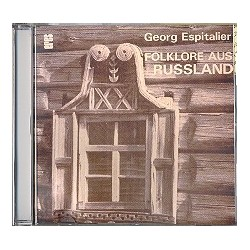 Espitalier, Georg: Folklore aus Russland für 2 Akkordeons : Playalong-CD