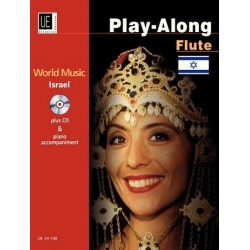 World Music Israel (+CD) : f├╝r Fl├Âte und Klavier