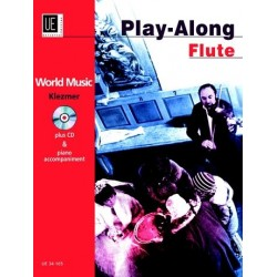 World Music Klezmer (+CD) : f├╝r Fl├Âte und Klavier