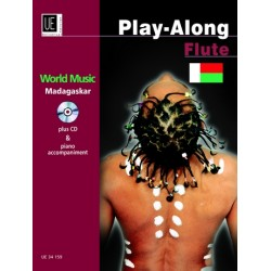 World Music Madagascar (+CD) : f├╝r Fl├Âte und Klavier