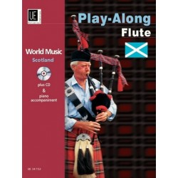 World Music Scotland (+CD) : f├╝r Fl├Âte und Klavier