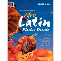 Afro-Latin Flute Duets : für 2 Flöten Spielpartitur