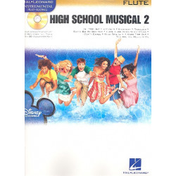 High School Musical vol.2 (+CD) : for flute