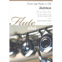 Stibor, Christoph: Jazzala (+CD) : f├╝r Fl├Âte und Klavier