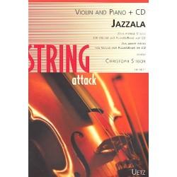 Stibor, Christoph: Jazzala (+CD): für Violine und Klavier