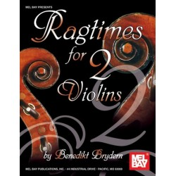 Ragtimes : for 2 violins score