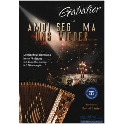 Michlbauer, Florian: Amoi seg ma uns wieder (+CD) für Steirische Harmonika (Gesang/Melodieinstrument/Gitarre ad lib) Stimmen