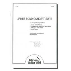 James-Bond-Concert-Suite : für Akkordeonorchester Partitur