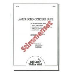 James-Bond-Concert-Suite : für Akkordeon Orchester Stimmenset (Akk 5-4-3-2)