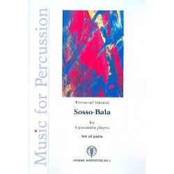 Séjourné, Emmanuel: Sosso-Bala : for 8 percussion players parts