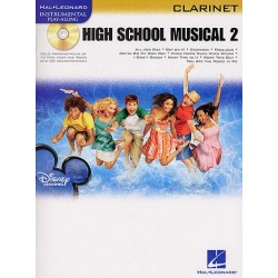High School Musical vol.2 (+CD) : for clarinet