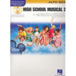 High School Musical vol.2 (+CD) : for alto saxophone