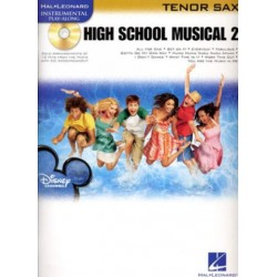 High School Musical vol.2 (+CD): for tenor saxophone