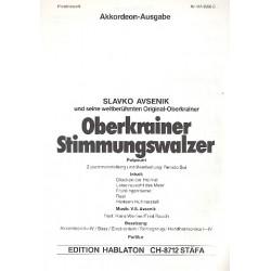 Avsenik, Slavko: Oberkrainer Stimmungswalzer (Potpourri) : f├╝r Akkordeonorchester Akkordeon 1