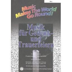 Musik für Gedenk- und Trauerfeiern : für flexibles Ensemble Flöte