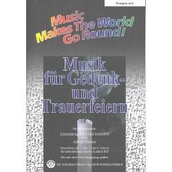 Musik für Gedenk- und Trauerfeiern : für flexibles Ensemble Trompete