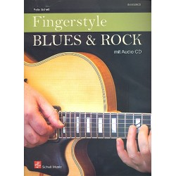 Schell, Felix: Fingerstyle Blues and Rock (+CD) : für Gitarre/Tab (dt)