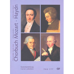Chorbuch Mozart Haydn Band 7 - Kanons Partitur