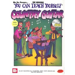 You can teach yourself Country Guitar (+DVD +CD)