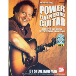 Kaufman, Steve: Power Flatpicking Guitar (+DVD +CD)