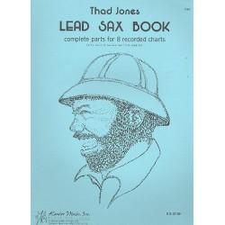 Jones, Thad: Lead Sax Book : for alto saxophone (soprano sax and flutes doubles)