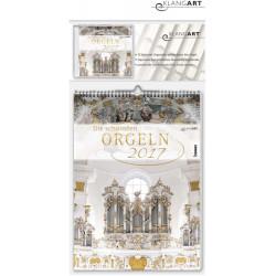 Kalender Die schönsten Orgeln 2017 (+CD) Monatskalender 30x42cm