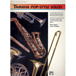 Bach, Steve: Yamaha Pop Style Solos vol.1 : for trumpet