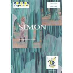 Gengembre, Jean-Claude: Simon : for 7 percussion players (with mallets) score and parts