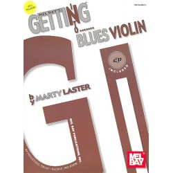 Laster, Marty: Getting Blues Violin (+CD)