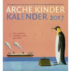 Arche Kinder Kalender 2017 : Wochenkalender 30x32cm