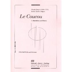 Daquin, Louis Claude: Le Coucou : für Mandoline und Gitarre Partitur und Stimmen