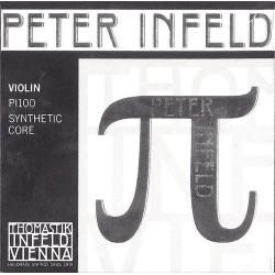 Thomastik Peter Infeld Violinsaiten 4/4 Einzelsaite E (Platin/Kugel) - Stärke: mittel
