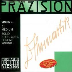 Thomastik Präzision Violinsaiten D 1/16 (Stahl/Chrom) - mittel