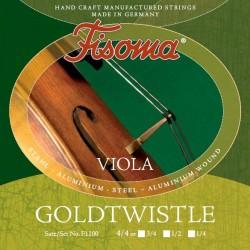 Fisoma Goldtwistle Violasaiten SATZ 3/4 - mittel