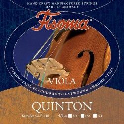 Fisoma Quinton Violasaite C 4/4 (Chrom) - mittel