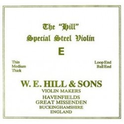 The Hill Violinsaite E 4/4 (Schlinge) - hart