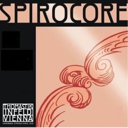 Thomastik Spirocore Violinsaite D 4/4 (Chrom) - mittel