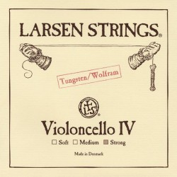Larsen Cellosaite IV C 4/4 (Wolfram) - hart